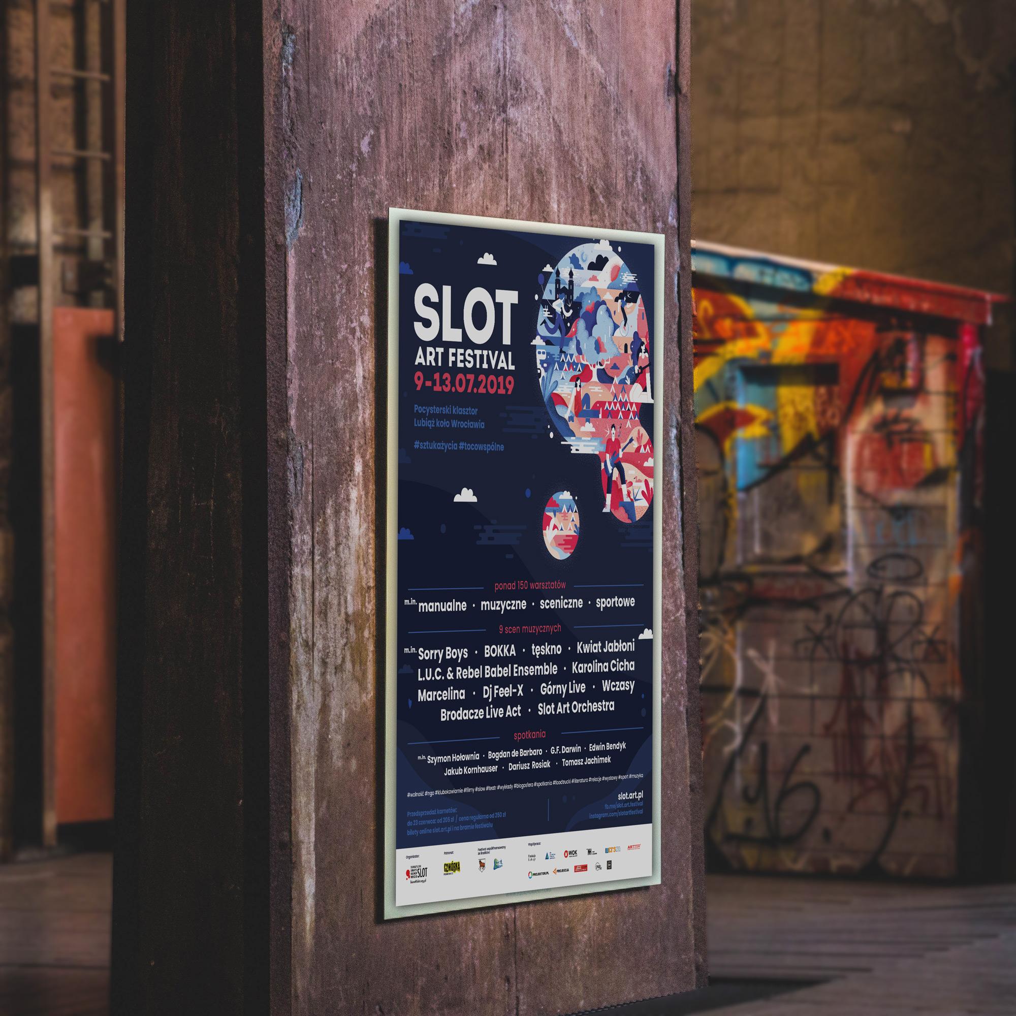 Slot Art Festival Plakaty Slot Art Festival